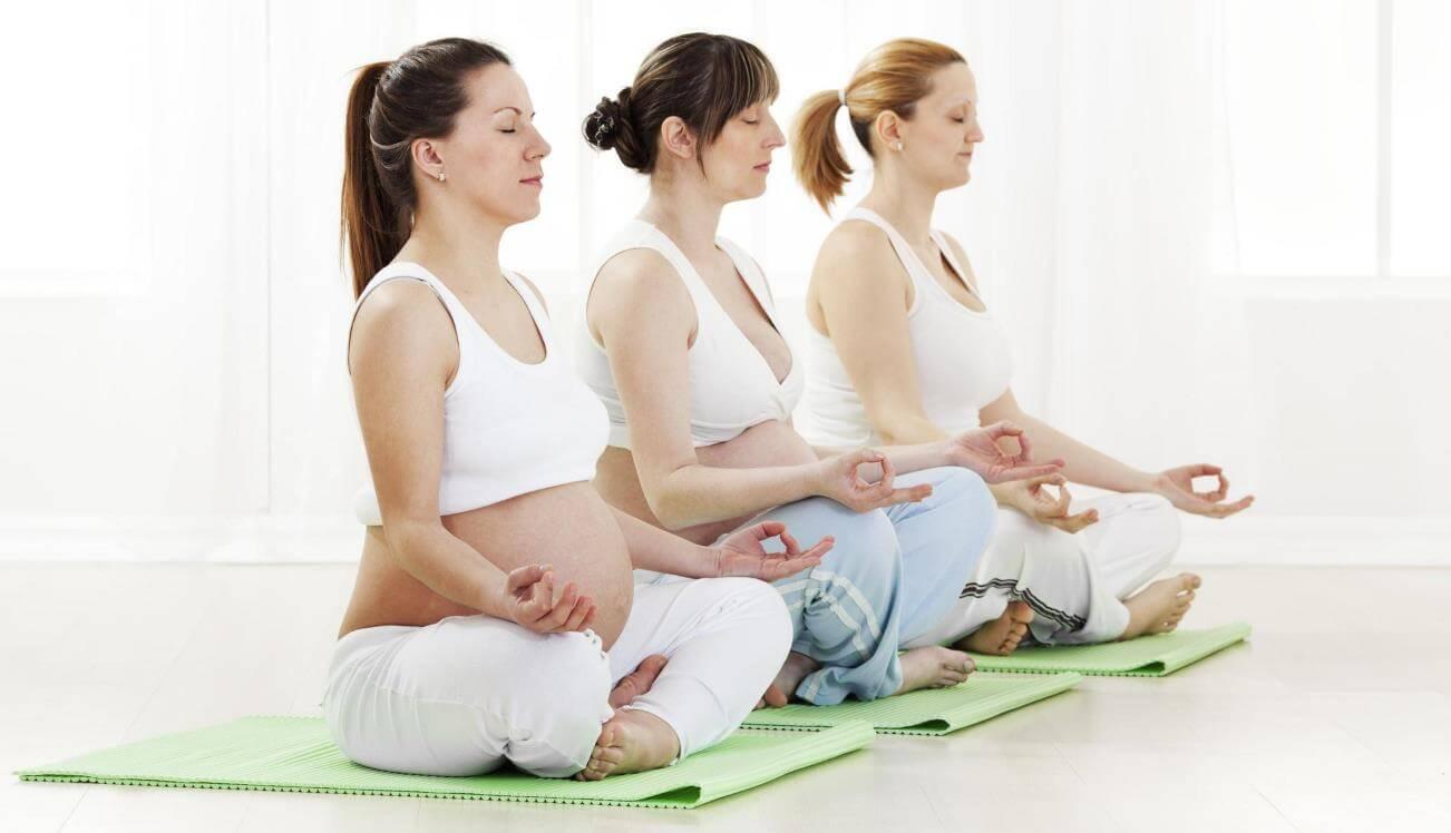 йога для беременных занятия в 1 2 3 триместре