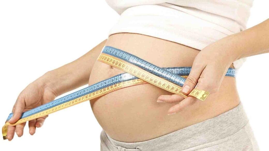 окружности живота по неделям беременности нормы таблица